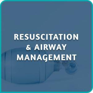 RESUSCITATION & AIRWAY MANAGEMENT